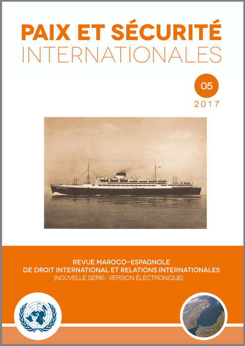 Revista «Paix et Sécurité Internationales»