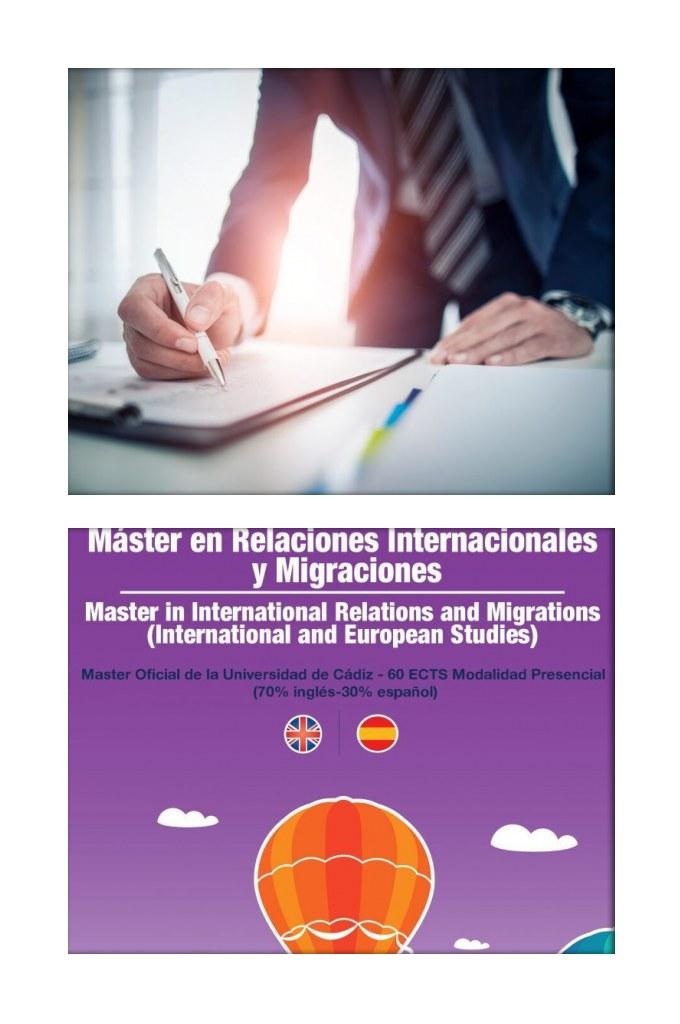 Reciente contratación de 3 de nuestros alumnos egresados del Máster Bilingüe en Relaciones Internacionales y Migraciones en Organizaciones Internacionales